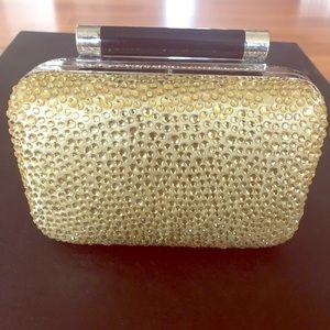 Diane V Furstenburg Tonda Crystal Pave 2-way purse